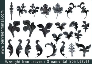 wrought-iron-leaves